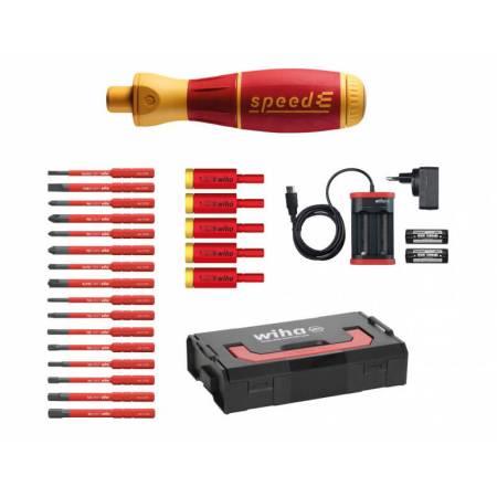 Destornillador eléctrico speedE Set