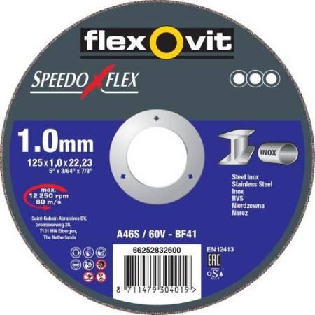 Speedoflex corte 125x1.0x22.23- T41