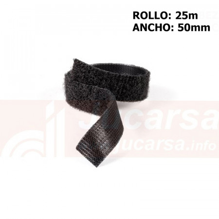 Velcro One Wrap 50mm. Negro