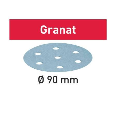 Disco de lijar STF D90/6 P60 GR/50 Granat