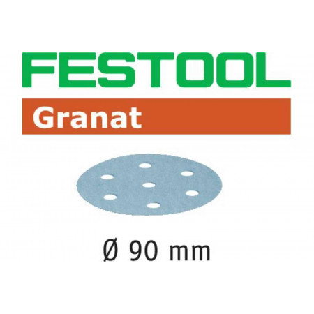 Disco de lijar STF D90/6 P80 GR/50 Granat