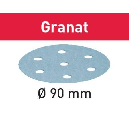 Disco de lijar STF D90/6 P500 GR/100 Granat
