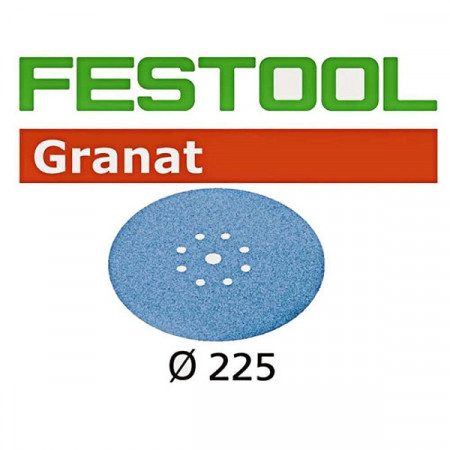 Disco de lijar STF D225/8 P240 GR/25 Granat