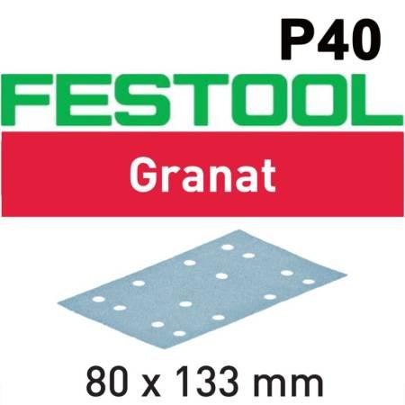 Festool Hoja de lijar STF 80x133 P40 GR50