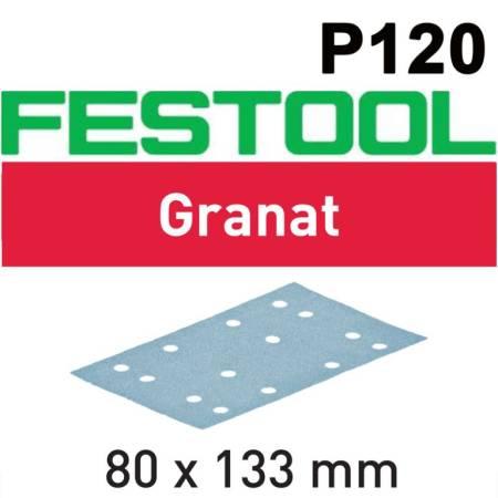 Festool Hoja de lijar STF 80x133 P120 GR/100