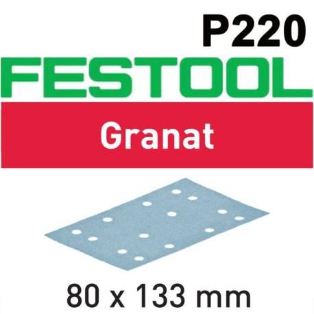 Festool Hoja de lijar STF 80x133 P220 GR/100