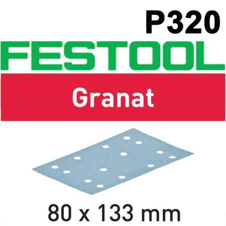 Festool Hoja de lijar STF 80x133 P320 GR/100