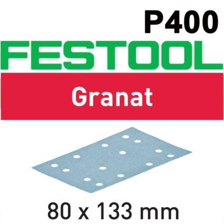 Festool Hoja de lijar STF 80x133 P400 GR/100