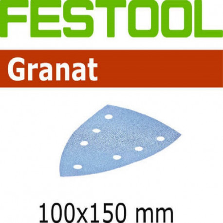 Festool Hojas de lijar STF DELTA/7 P180 GR/10