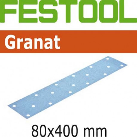 Festool Hoja de lijar STF 80x400 P120 GR/50