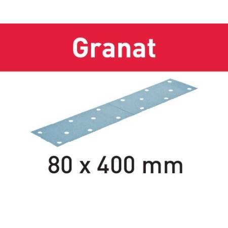 Hoja de lijar STF 80x400 P320 GR/50 Granat
