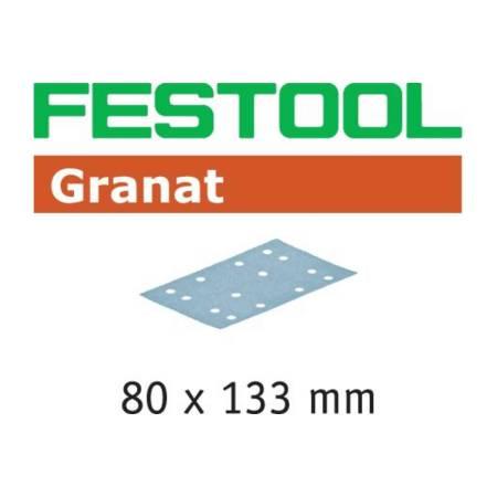 Hoja de lijar STF 80x133 P280 GR/100 Granat