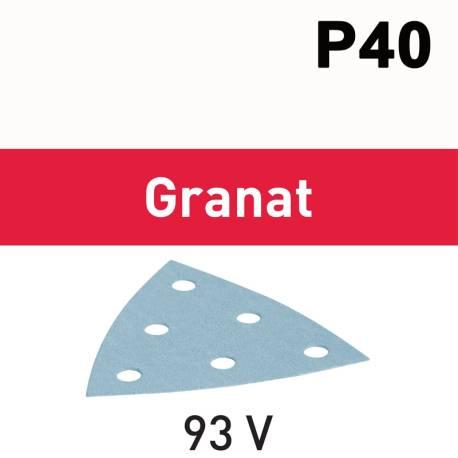 Festool Hojas de lijar STF V93/6 P40 GR/50