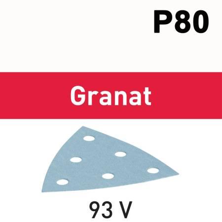 Hoja de lijar STF V93/6 P80 GR/50 Granat