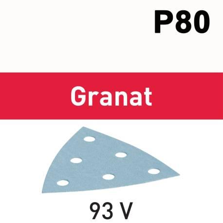 Festool Hojas de lijar STF V93/6 P80 GR/50