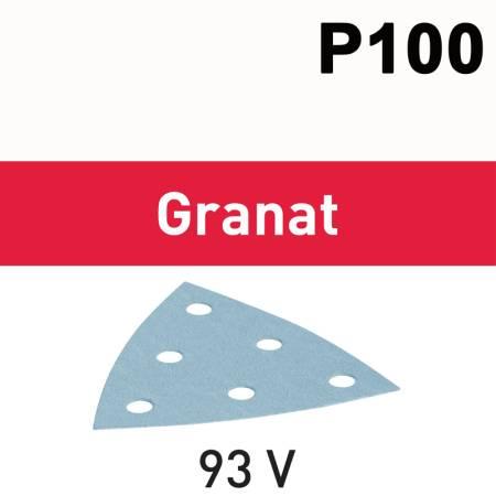 Hoja de lijar STF V93/6 P100 GR/100 Granat