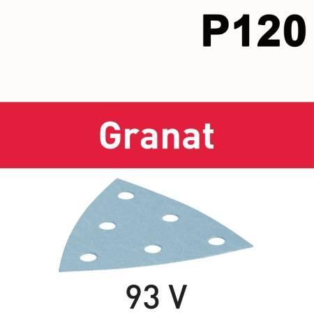 Hoja de lijar STF V93/6 P120 GR/100 Granat