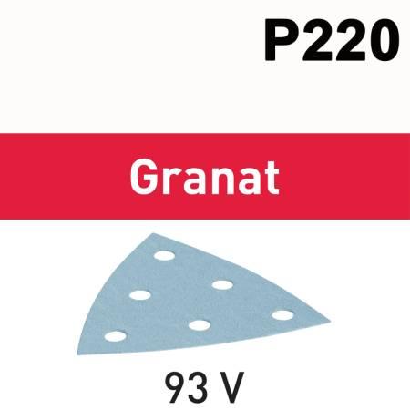Hoja de lijar STF V93/6 P220 GR /100 Granat