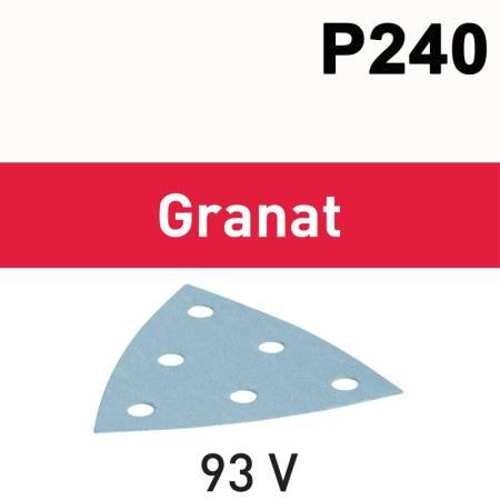 Hoja de lijar STF V93/6 P240 GR/100 Granat