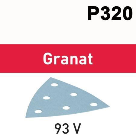 Hoja de lijar STF V93/6 P320 GR/100 Granat