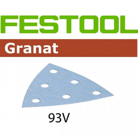 Hoja de lijar STF V93/6 P400 GR/100 Granat