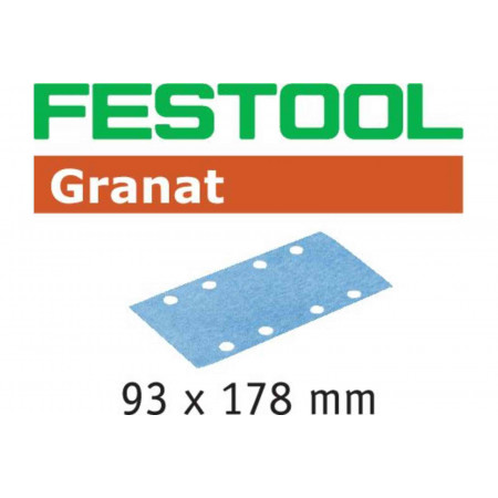 Hoja de lijar STF 93X178 P220 GR/100 Granat