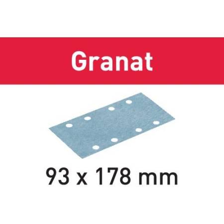 Hoja de lijar STF 93X178 P280 GR/100 Granat