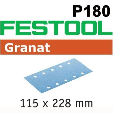 Hoja de lijar STF 115X228 P180 GR/100 Granat