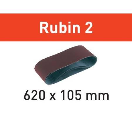 Banda de lijar L620X105-P60 RU2/10 Rubin 2