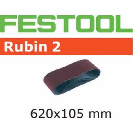 Festool Banda de lijar L620X105-P120 RU2/10