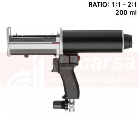 Pistola neumática DP 200-70-01 1:1 2:1