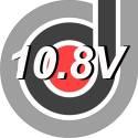 10.8 Voltios